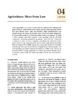 Economic Survey 2015-16, chap. 4: Agriculture: More from Less